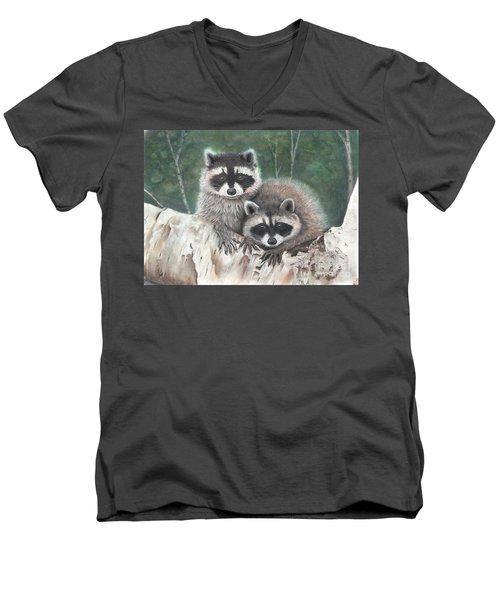 Little Rascals Men's V-Neck T-Shirt
