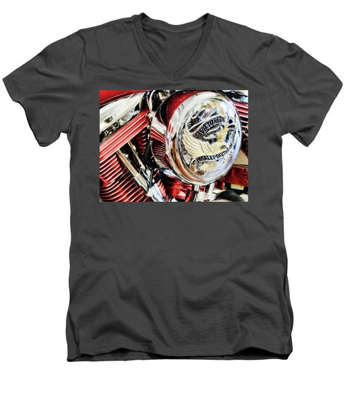Live To Ride  Men's V-Neck T-Shirt