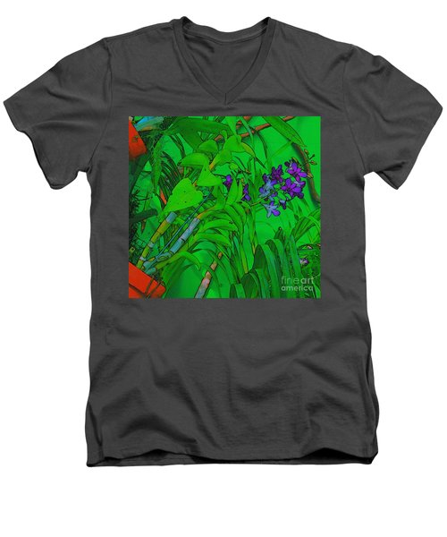 Living Wall Art Men's V-Neck T-Shirt