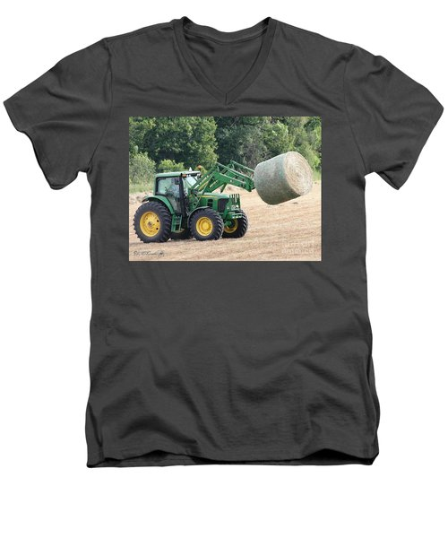 Loading Hay Men's V-Neck T-Shirt