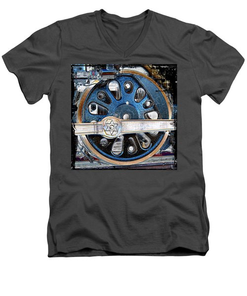 Loco Wheel Men's V-Neck T-Shirt