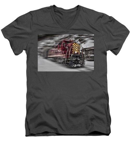 Locomotion Men's V-Neck T-Shirt