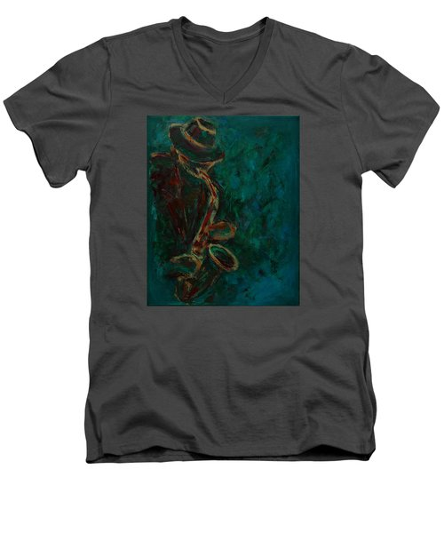 Lonely Jazz Men's V-Neck T-Shirt