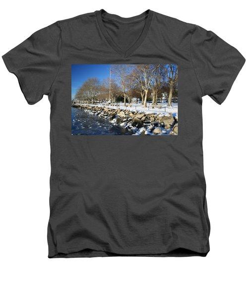Lonely Park Men's V-Neck T-Shirt