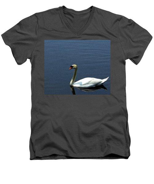 Lonesome Swan Men's V-Neck T-Shirt