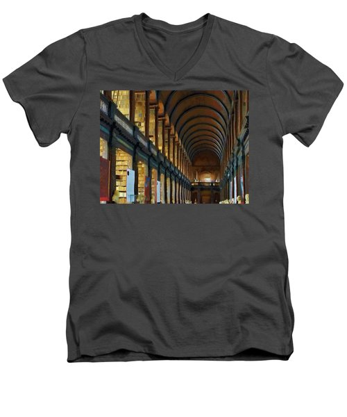 Long Room Men's V-Neck T-Shirt