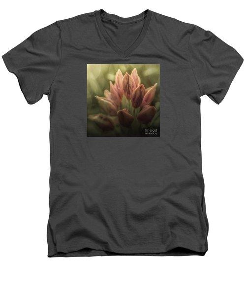 Longing For God Men's V-Neck T-Shirt