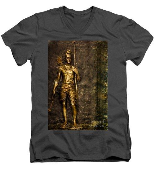 Lord Sri Ram Men's V-Neck T-Shirt