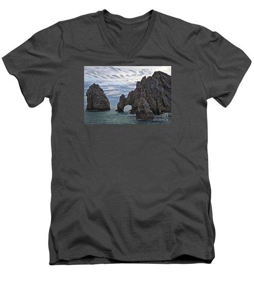 Los Arcos In Cabo San Lucas Men's V-Neck T-Shirt