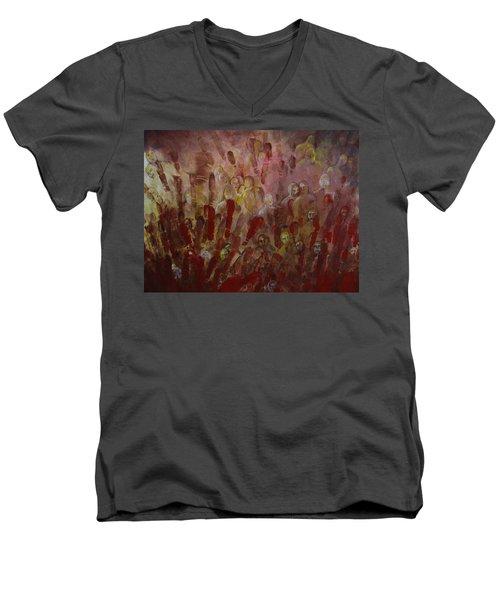 Lost Men's V-Neck T-Shirt