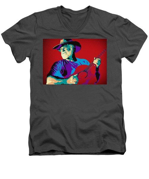 Jack Pop Art Men's V-Neck T-Shirt