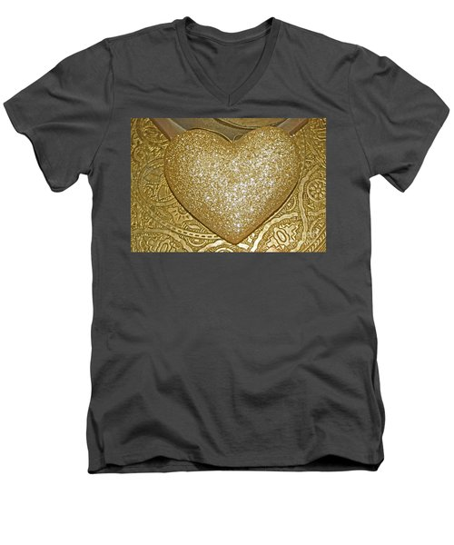 Lost My Golden Heart Men's V-Neck T-Shirt