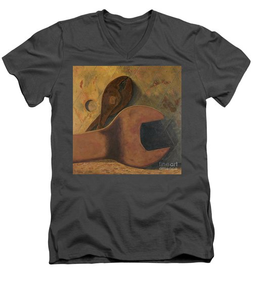 Lost Tools Men's V-Neck T-Shirt by Garry McMichael