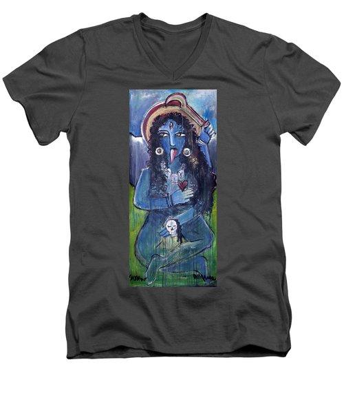 Love For Kali Men's V-Neck T-Shirt