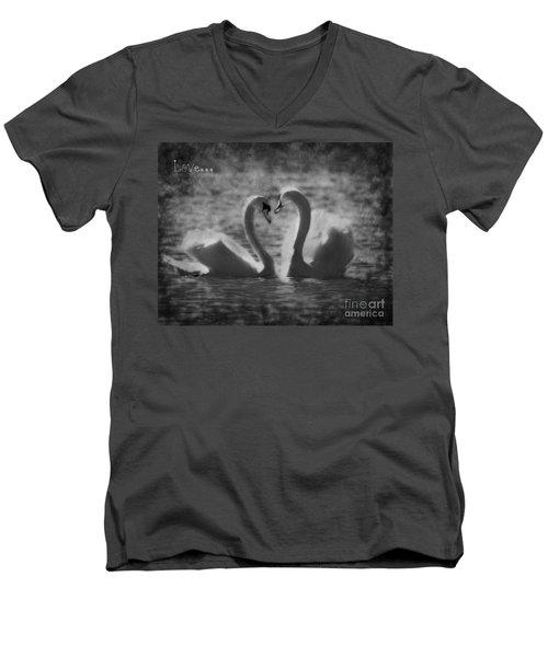 Love... Men's V-Neck T-Shirt