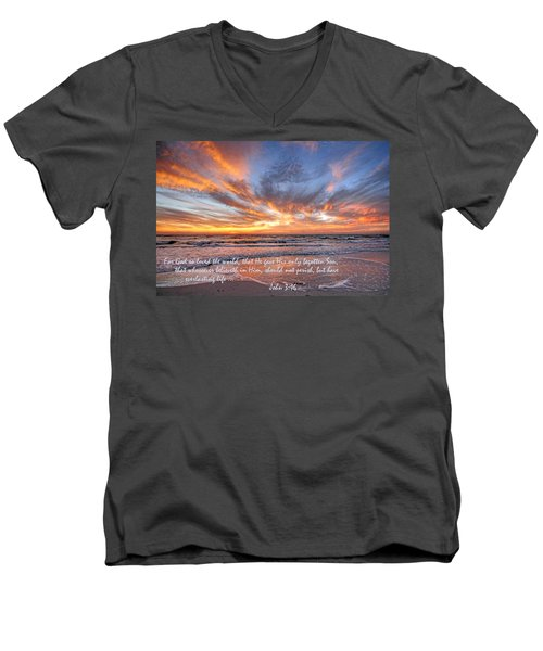 Love Personified Men's V-Neck T-Shirt