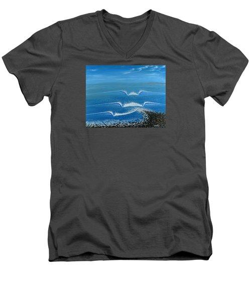 Lower Trestles Men's V-Neck T-Shirt