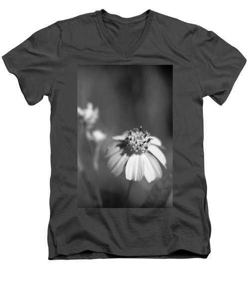 Men's V-Neck T-Shirt featuring the photograph Loxahatchee Flower by Bradley R Youngberg