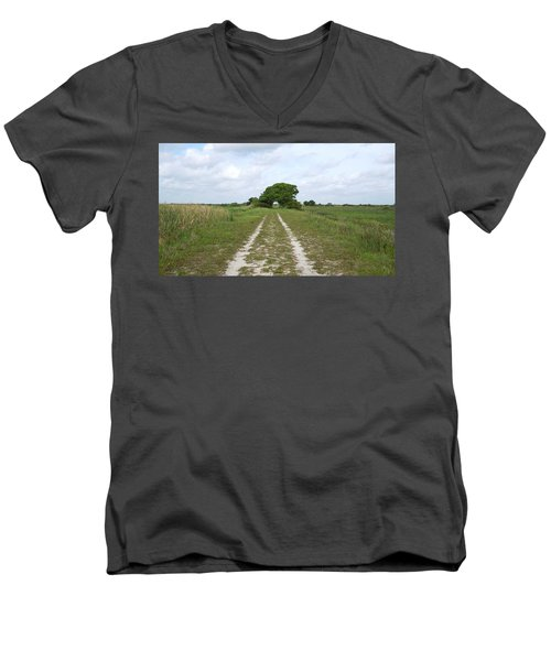Loxahatchee Wildlife Refuge Men's V-Neck T-Shirt