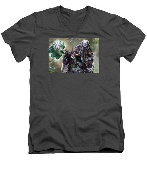 Loxodon Smiter Men's V-Neck T-Shirt