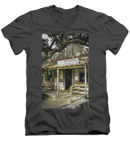 Luckenbach Men's V-Neck T-Shirt