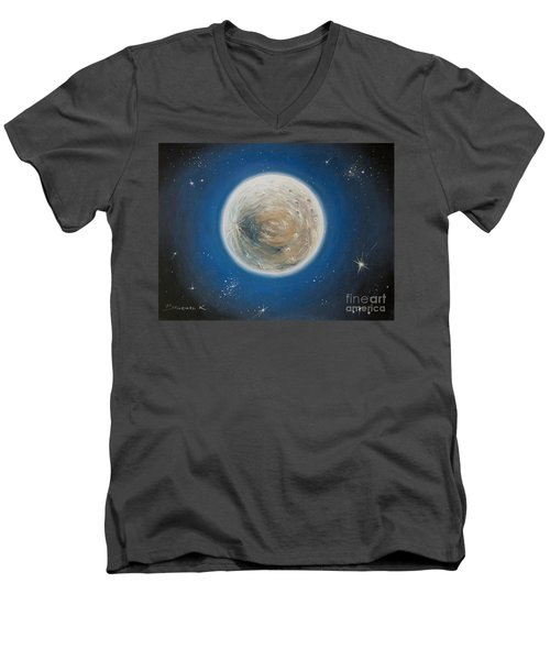 Luna Men's V-Neck T-Shirt