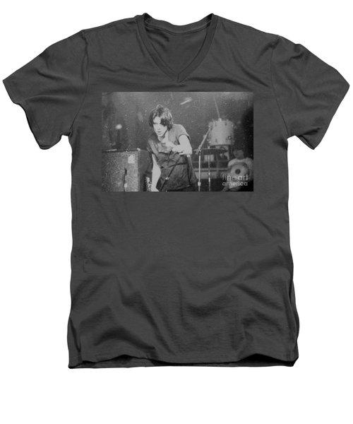 lux Men's V-Neck T-Shirt by Steven Macanka