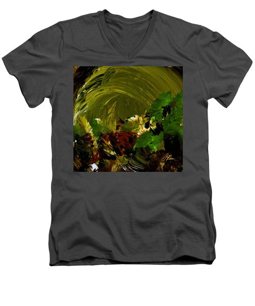 Intuitive Painting  803 Men's V-Neck T-Shirt