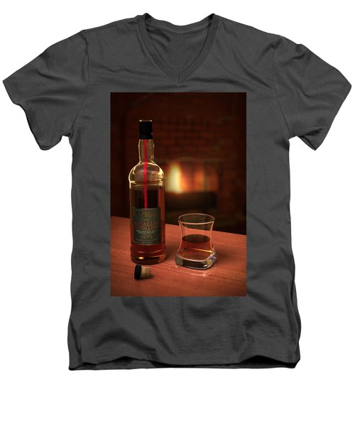 Macallan 1973 Men's V-Neck T-Shirt