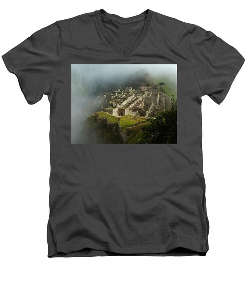 Machu Picchu Peru 2 Men's V-Neck T-Shirt