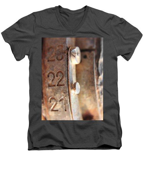 Macro Enigma Men's V-Neck T-Shirt