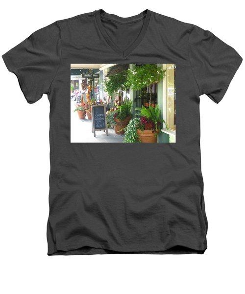 Madison Valley Street Scene 2 Men's V-Neck T-Shirt