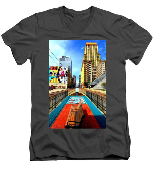 Madison's Memphis Men's V-Neck T-Shirt