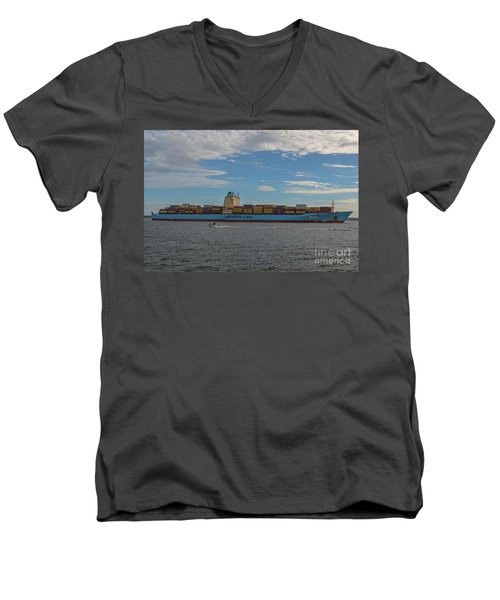 Maersk Line Beaumont Men's V-Neck T-Shirt