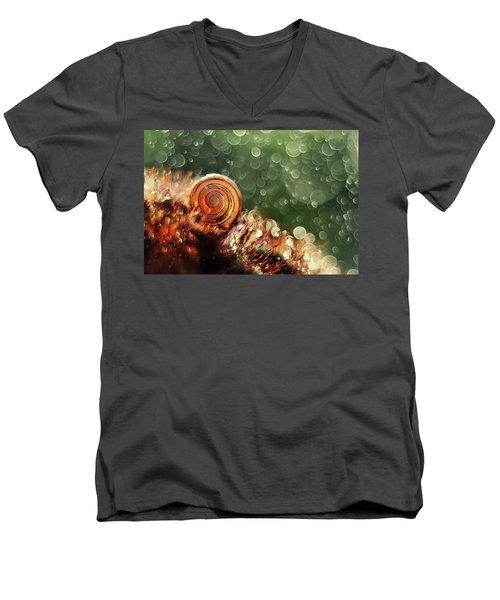 Magic Forest Men's V-Neck T-Shirt