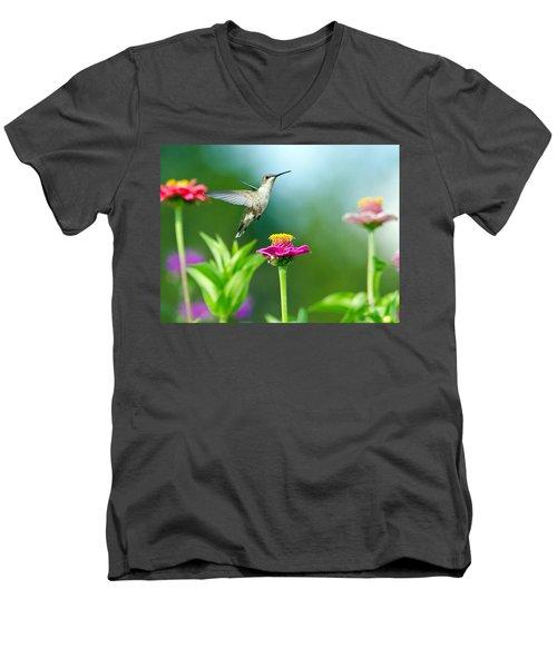 Magic Garden Men's V-Neck T-Shirt