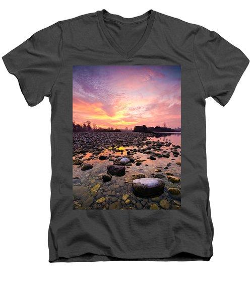 Magic Morning II Men's V-Neck T-Shirt