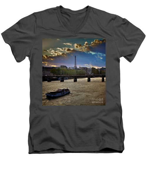 Magic Paris Men's V-Neck T-Shirt