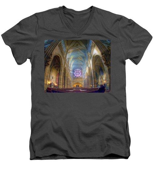 Magical Light Men's V-Neck T-Shirt