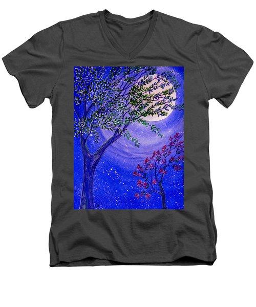 Magical Spring Men's V-Neck T-Shirt