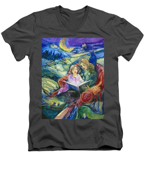 Magical Storybook Men's V-Neck T-Shirt