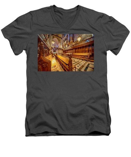 Magnificent Cathedral I Men's V-Neck T-Shirt