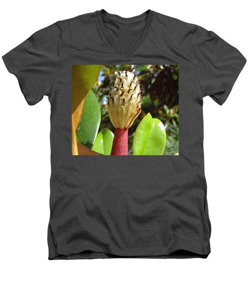 Magnolia Faith  Men's V-Neck T-Shirt