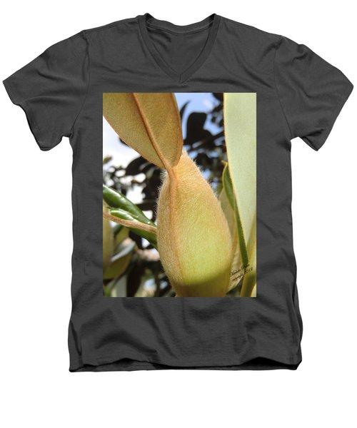 Magnolia Serenity - Signed Men's V-Neck T-Shirt
