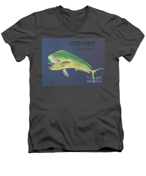 Mahi-mahi Men's V-Neck T-Shirt