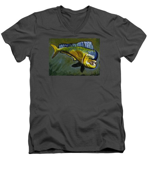 Mahi Mahi Men's V-Neck T-Shirt
