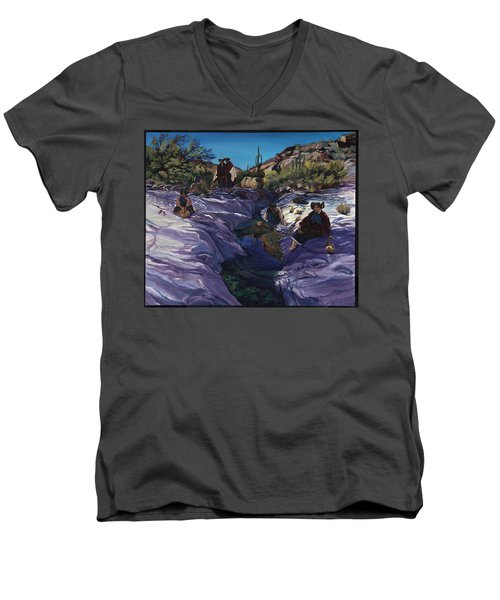 Maiden Pools Men's V-Neck T-Shirt