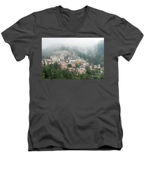 Maleod Ganj Of Dharamsala Men's V-Neck T-Shirt