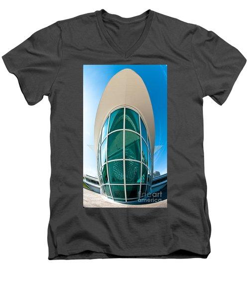 Mam Verticle Men's V-Neck T-Shirt