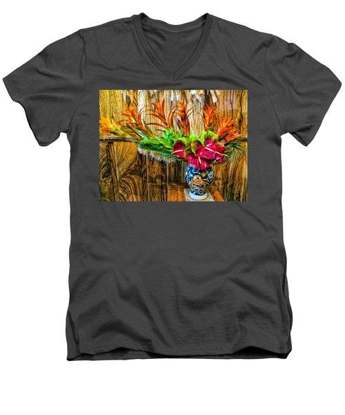 Mama's 24 Men's V-Neck T-Shirt